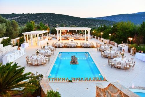 κτήμα γάμου με πισίνα